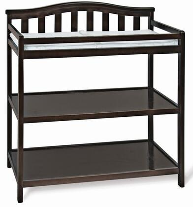 F01216.07 Arch Top Changing Table: