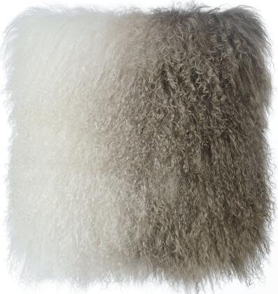 TOV-C5706 Tibetan Sheep Pillow White and