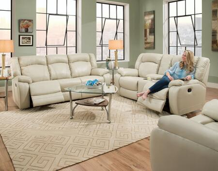 Yahtzee Collection 50280BR53SET 3 PC Living Room Set with Motion Sofa + Reclining Loveseat + Rocker Recliner in Pearl