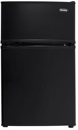 DCR032C3BDB 20 inch  Energy Star Compact Top Freezer Refrigerator with 3.2 cu. ft. Total Capacity  Cycle Defrost  CanStor Beverage Dispensing System  and Interior