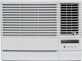EP08G11B Window Air Conditioner with 7500 BTU Cooling and 3850 BTU Heating  Auto Air Sweep Swing Louvers and Washable Air