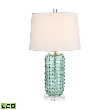 D2924-LED Caicos 1 Light LED Table Lamp in Green