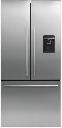 RF170ADUSX4N 32 inch  Freestanding French Door Refrigerator with Built-In Ice Maker  Sabbath Mode  16.9 cu. ft. Total Capacity  and 3 Adjustable Glass Shelves  in