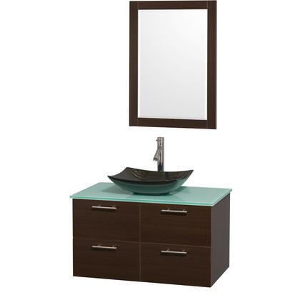WCR410036SESGGGS4M24 36 in. Single Bathroom Vanity in