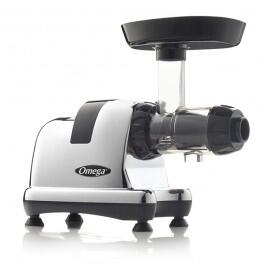 J8008 Masticating Juicer with 80 RPM Low-Speed  150 Watts  Dual Stage Extraction and High Juice Yield in