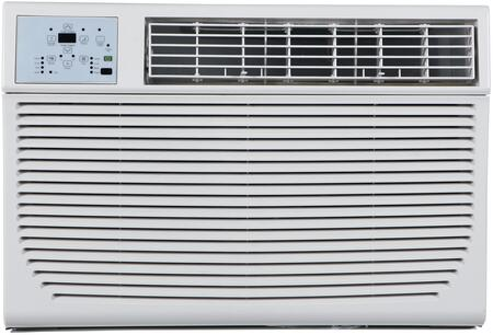 "ITAC12-KSA21 25"" Energy Star Through the Wall Air Conditioner with x Cooling BTU x sq. ft. Cooling Area 24 Hour Timer Auto Restart Energy Saver and Remote"