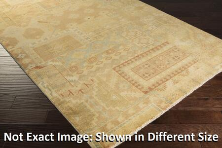 Ainsley Ain1011-811 8 X 11 Rectangular 100% Wool Hand Knotted Rug With Antique Wash  Minimal Shedding  Fringe/tassel Detail  Lustrous Sheen  And Made In