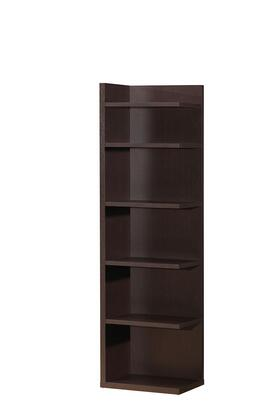 92092 Mileta 70 inch  High Bookcase with 6 Shelves in
