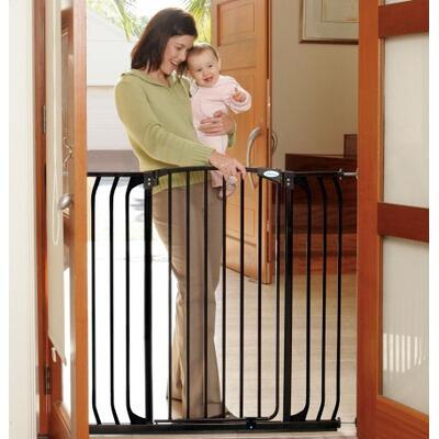 L792B Madison Xtra Tall and Wide Swing Close Gate Combo Pack in