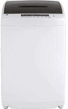 GE GNW128PSMWW 24 Inch Compact Portable Washer with 2.8 cu. ft. Capacity in White