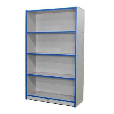 N60SCASEFS 60 Single-Sided Bookcase Gray Nebula Finish  Edge Color -