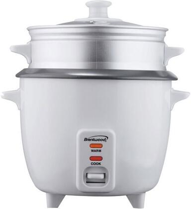 TS-600S 5-Cup Rice Cooker with Steamer  Nonstick Coated Inner Pot  400 Watts and Automatic Shutoff in