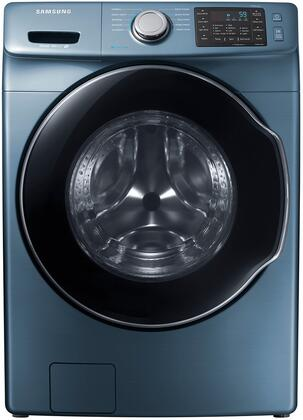 "WF45M5500AZ 27"" Front-Load Washer With 4.5 cu. ft. Capacity DOE  Steam Wash  VRT Plus Technology  Steam Wash  Self Clean  Smart Care  Child Lock  Delay End  in"