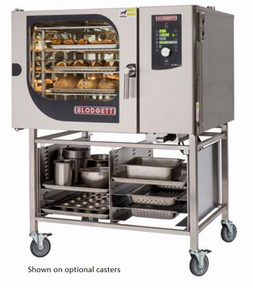 BCM62E Single Electric Boiler based Combination-Oven/Steamer with Dial and Digital controls  Reversible 9 speed fan  Up to 50 recipe programs with 10 cooking