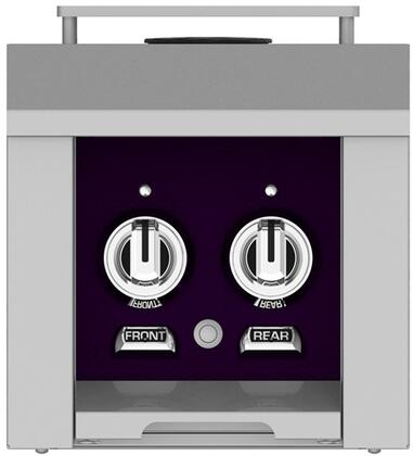 AGB122LPPP 12 inch  Built-In Liquid Propane Double Side Burners with 30 000 BTU Total Heat Output  in Lush
