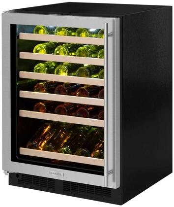 Marvel ML24WSG3LS 24 Wine Cellar, stainless steel frame glass door, left hinge