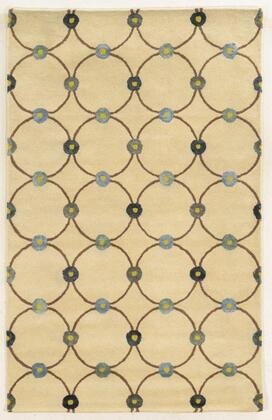 Gsagv863100372608 Gillespie Avenue Gv8631-26 X 8 Hand-tufted Premium Blended Wool With Viscose Accents Rug In Ivory   Rectangle