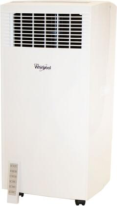 Whirlpool WHAP141AW 14,000 BTU Single-Exhaust Portable Air Conditioner with Remote Control in White