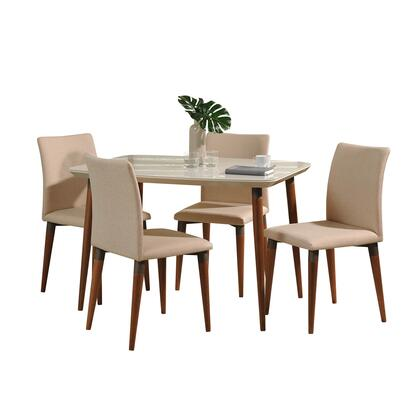 2-10128521011452 5-Piece Charles Dining Set with 45