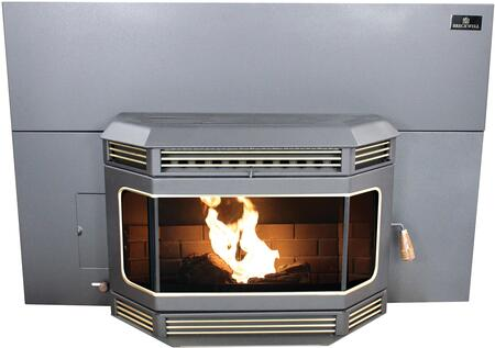 "SP2000I 30"" Wide Tahoe 45 000 BTU Automatic Fuel Feed Pellet Insert Stove in Black with 60 lbs Hopper and 5 Heat"