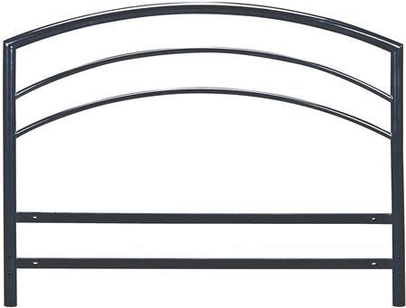 DSVHEADBTW Vault Black Metal Headboard For Platform Bed Twin
