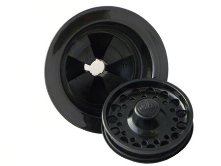 90188.06 Stainless Steel Flange and Stopper in Black for ISE