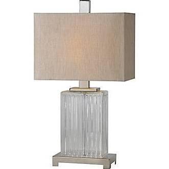 LPT474 Gabriella Lamp Table Lamp in Satin