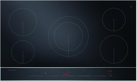 "CI365DTB2 36"" Electric Induction Cooktop with 5 Cooking Zones PowerBoost with up to 5500 Watts Output Hot Surface Indicator Spillage Auto Off Minute timer"