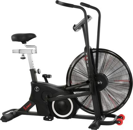 SF-B2729 Tornado LX Air Bike with Adjustable Seat  Foot Pedal  Ergonomic Handle Bar  Digital Display Monitor  and Transportation Wheels  in