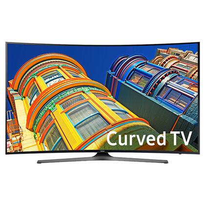 "Samsung 65"" Class (64.5"" Diag.) LED Curved 2160p Smart 4K Ultra HD TV Silver UN65KU6500FXZA"