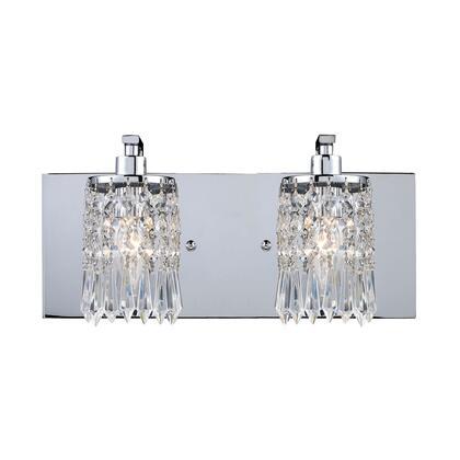 11229/2 Optix 2-Light Vanity in Polished 398073