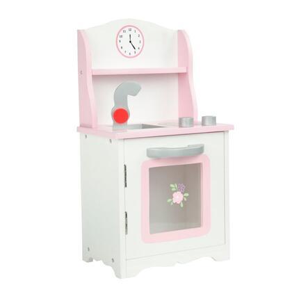 TD-0211A Teamson Kids - Little Princess 18 Doll Furniture - Sweet Pink