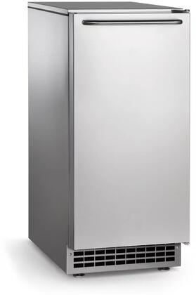CU50PA-1A 15 inch  Air Cooled Commercial Under Counter Cube Ice Machine with 26 lb Ice Storage Capacity  65 lb Daily Ice Production  Water Quality Detector and UL
