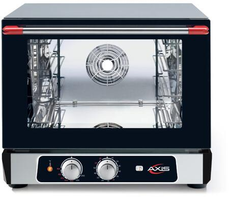 AX-514RH 24 inch  Countertop Convection Oven with 2.4 cu. ft. Capacity  Manual Controls  and Double Wall Oven Glass Door  in