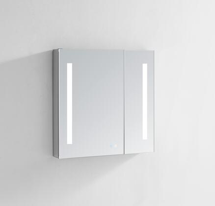Signature Royale SR3640 36 inch  x 40 inch  Medicine Cabinet with Interior LED Light With Sensor  Touch Screen Buttons for On/Off  Adjustable Dimmer and Defogging Heated