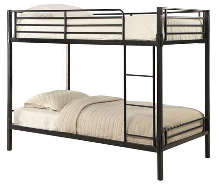 159388 Tool Less Collection Boltzero Twin Over Twin Bunk