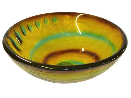 EB_GS32 Candy Swirls Glass Vessel