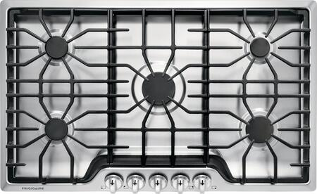 Frigidaire FFGC3626SS 36 ADA Compliant Built-In Gas Cooktop With 5 Sealed Burners