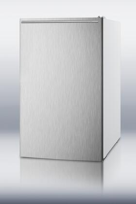 FS407LXSSHH 20 inch  Medically Approved Compact Freezer with 2.8 cu. ft. Capacity  Pull Out Drawers  Manual Defrost  Fully Finished Cabinet and Adjustable