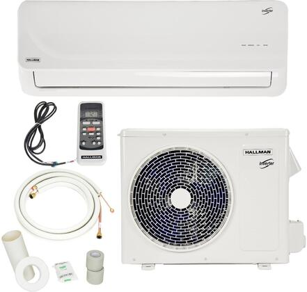 HMS15A12 Single Zone Mini Split Air Conditioner System with 12000 BTU Cooling Capacity  12000 BTU Heating Capacity  Heat Pump  Auto Restart  Dehumidification 709883