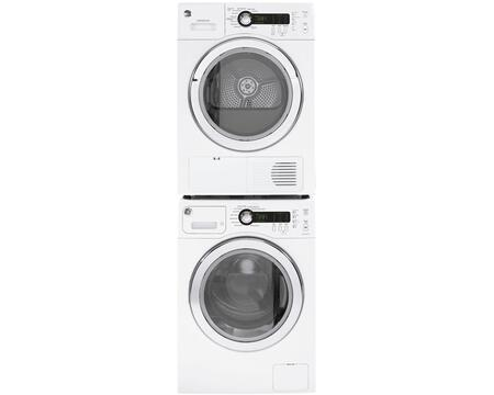 White Compact Laundry Pair with WCVH4800KWW 24