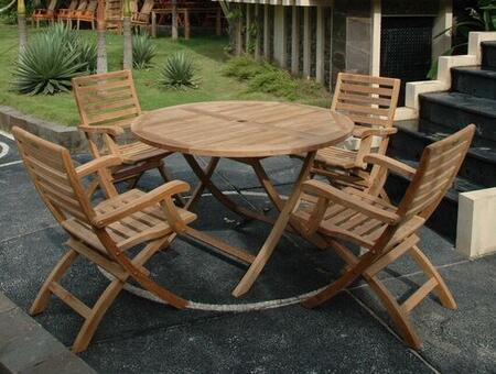 SET-109 5-Piece Dining Set with 47