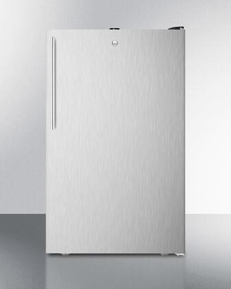 FF521BLBI7SSHV 20 inch  Commercially Listed Built-in Undercounter All-refrigerator with 4.1 cu.ft. Capacity  Auto Defrost  Door Lock and Adjustable Thermostat: