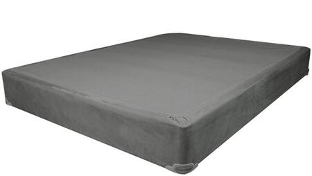 Jade Collection 29104 7 inch  King Size Mattress Foundation is Made in the USA in Grey