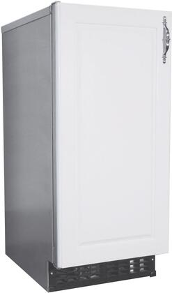 AM-50BAJ-ADDS 15 inch  ADA Compliant Commercial Approved Self-Contained Cuber with Built-In Storage Bin  55 lbs. Daily Ice Production  22 lbs. Storage Bin  R134a