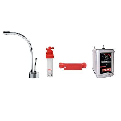LB9100C-110-HT Faucet Set with LB9100C Hot Water Dispenser  FRCNSTR110 Filter Canister  FM100 Filter Module Meter and HT300 Little Butler Heating