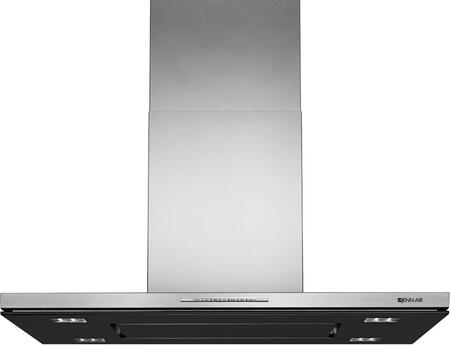 Jenn-Air JXI8936DS 36 Low Profile Island Mount Perimetric Canopy Hood with Auto Sense 600 CFM LED Lighting Sleep Mode 3 Fan Speeds in Stainless