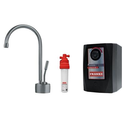 LB7180C-110-HT Faucet Set with LB7180C Hot Water Dispenser  FRCNSTR110 Filter Canister and HT100 Little Butler Heating