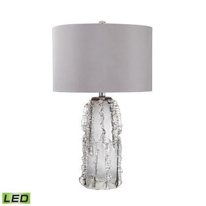 D2917-LED Palais 1 Light LED Table Lamp in Grey Smoke