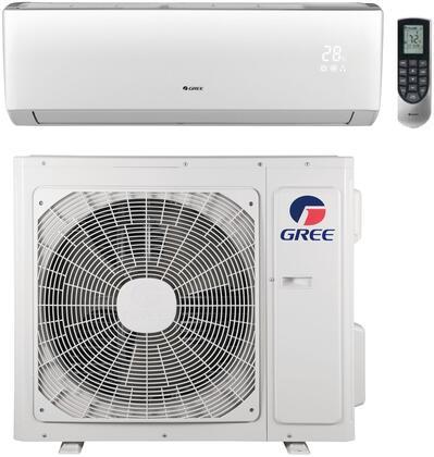 Gree VIR18HP230V1B 18,000 BTU 20 SEER Vireo+ Wall Mount Ductless Mini Split Air Conditioner Heat Pump 208-230V